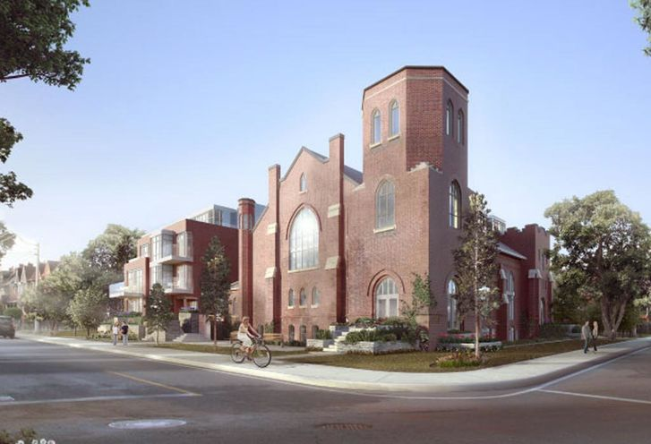 Arch Church Lofts Exterior
