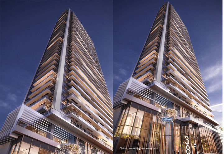 Central Condos by Concord Adex at 38 Widmer St, Toronto, ON