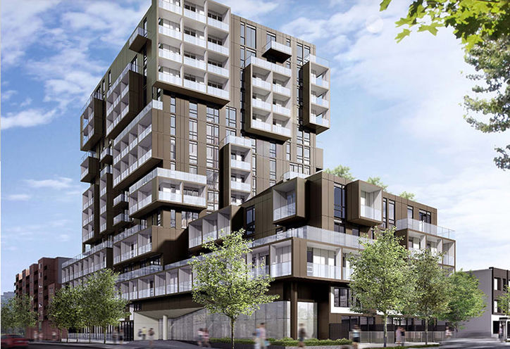 SQ 2 Condos at Alexandra Park Rendering